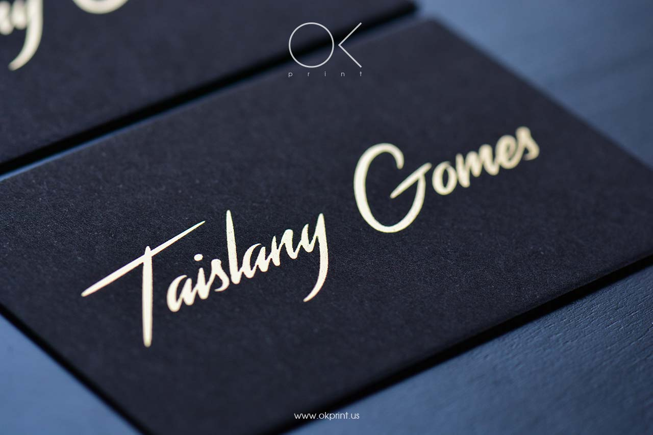 FOILED BUSINESS CARDS | OK PRINT,