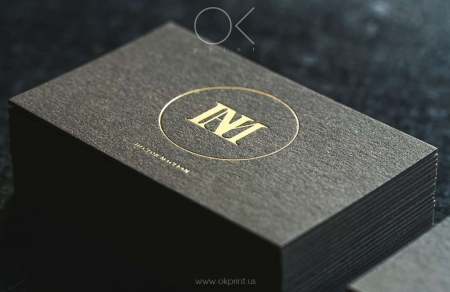 Luxury business cards usa ok print luxury business cards with gold foil for designer reheart Images